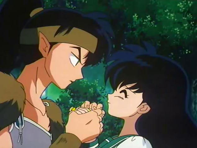 Kouga and Kagome
